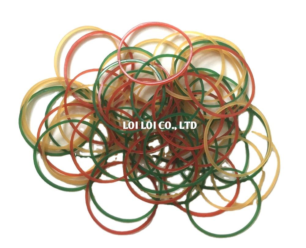 2020 Beautiful mixed color Natural rubber band fashion trend / Sell well Transparent Rubber Band soft durable BEST price
