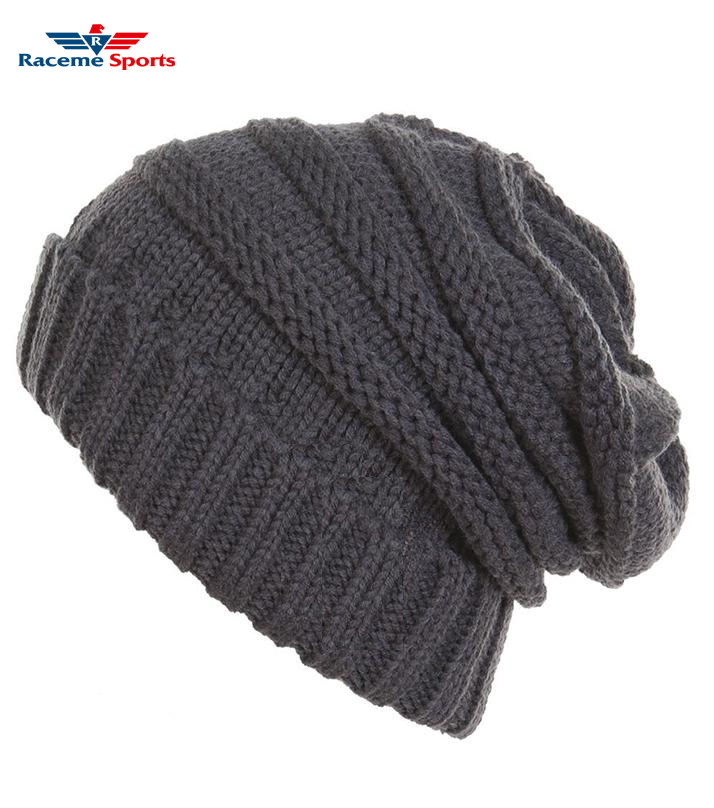 Beanie Acrylic custom new design winter warm beanie hat wholesale knitted beenies