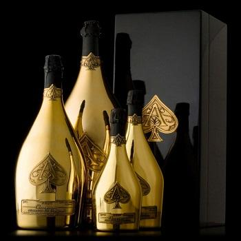 High standard Ace of Spades Champagne Wine, 750 mL
