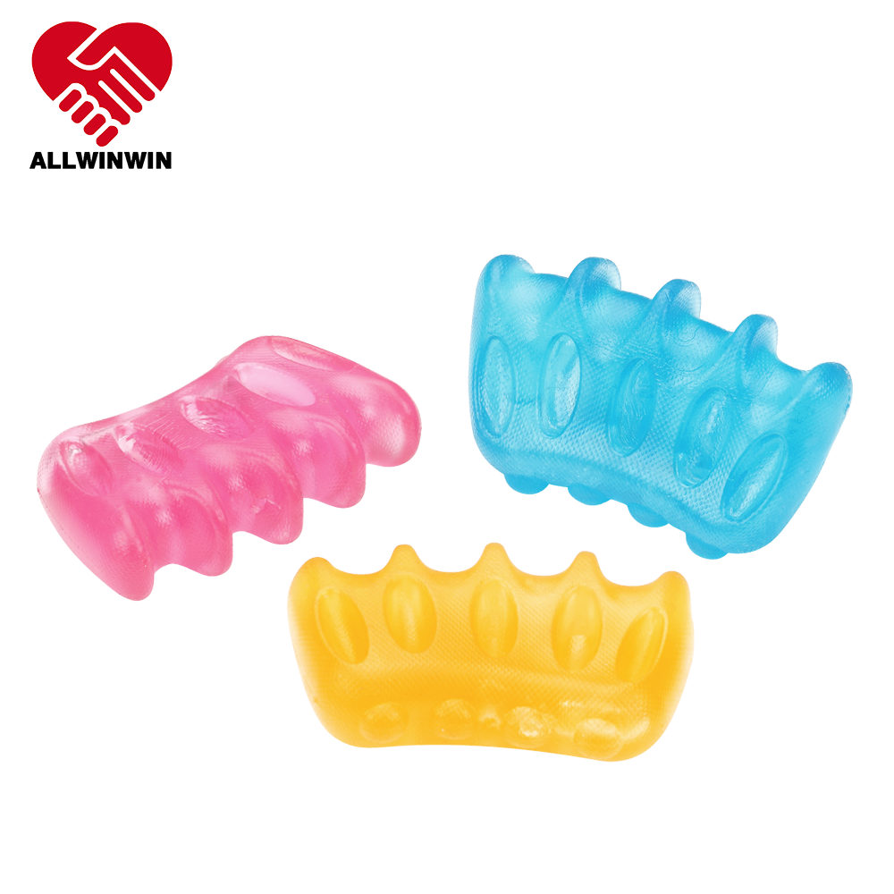 ALLWINWIN HEB10 Hand Exercise Ball - Ergonomic TPR Fidget Toy Squeeze Squishy Stress Therapy Grip