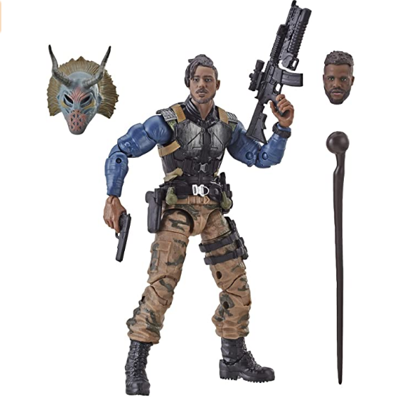 Plastic realistic Marvel Legends Series Black Panther 6-inch Erik Killmonger Figure action figures