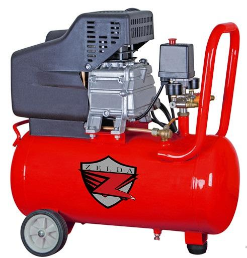 ในสต็อก 50L 2.5HP 1.8KW direct driven air air compressor
