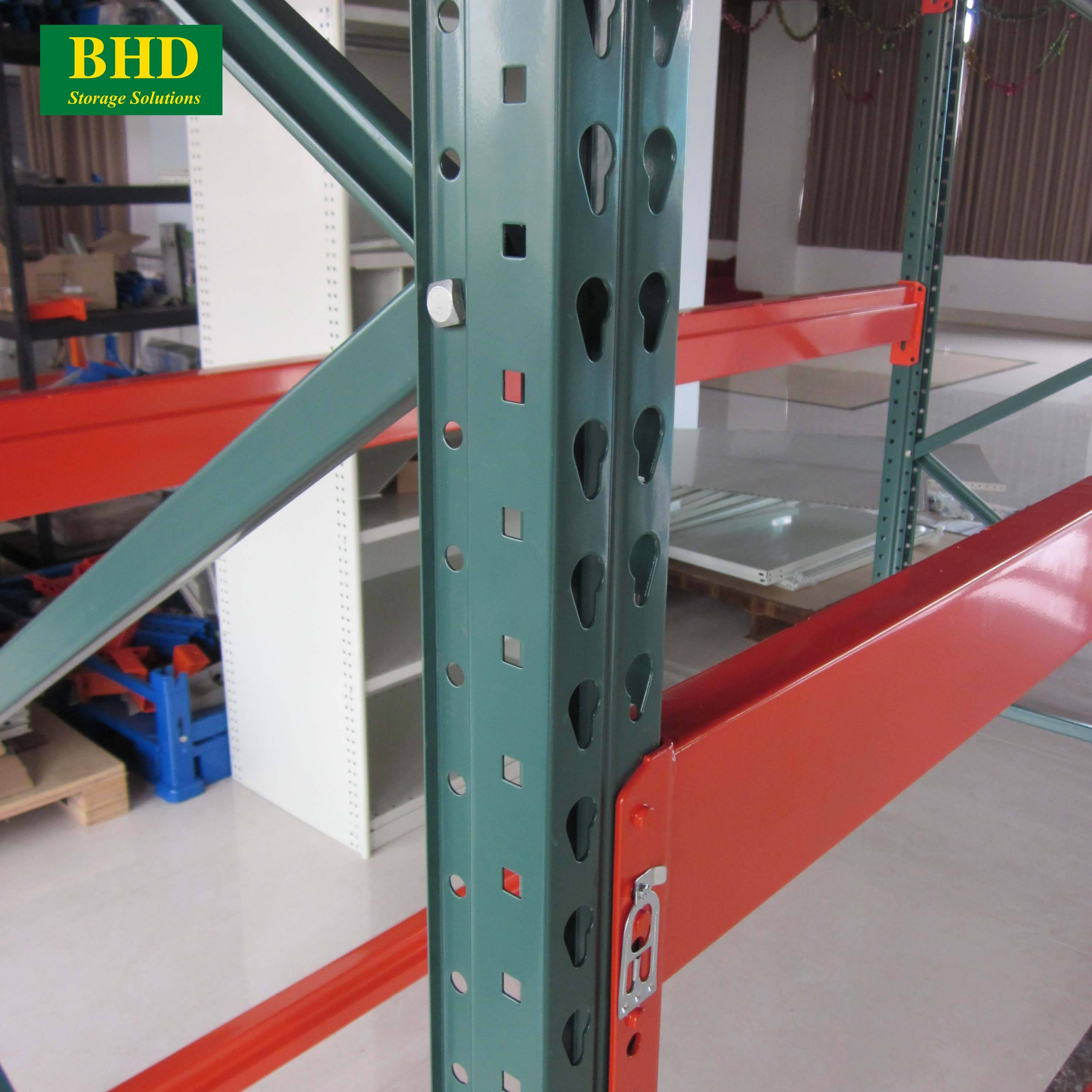 Vietnam Factory American Standard Pallet Rack with Bolted Footplate