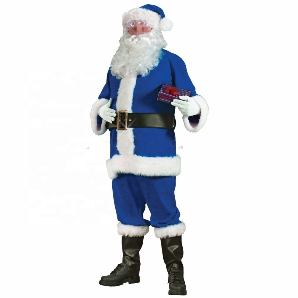 High quality Santa Claus costume/Christmas costumes for adult