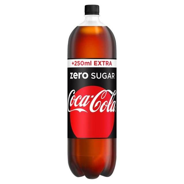 coca cola zero nella dieta