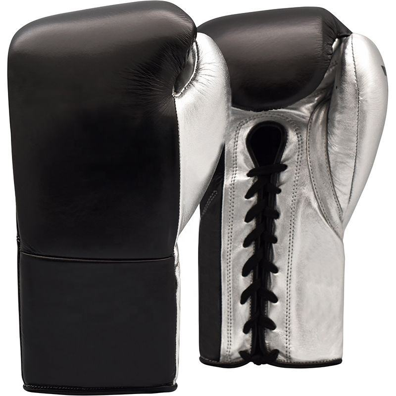 Cheap price High Quality Genuine Cowhide leather Boxing gloves Training boxing gloves