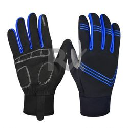 Men Winter Warm Gloves Waterproof Windproof Gloves With Touch screen technology for Cycling Full finger Thicken Unisex gloves