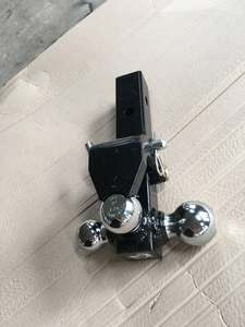 Forged Tri-Ball Trailer Hitch Towing Trailer parts for Car Pintle Hitch Trailer with Hitch Ball