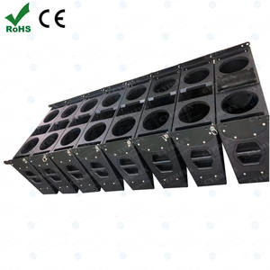 LA Series Professional Audio Passive Column Speaker 2 x 6.5 inches units low system colinear speaker