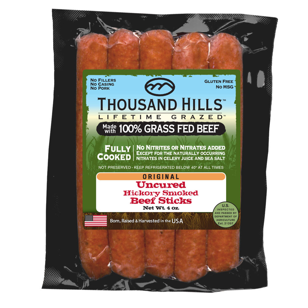 Uncured Beef Sticks-Original (12 UNITS @ 4 oz)