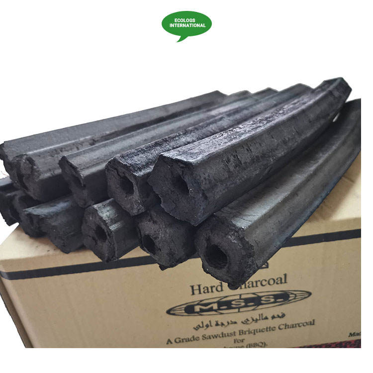 Precisely Processed First Class Grade BBQ Use Briquette Sawdust Charcoal