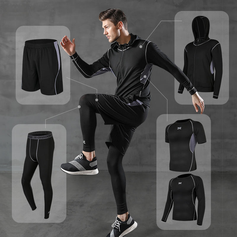 Wholesale Men Running Fitness Clothing Sportswear Gym Sports Wear Training Suit