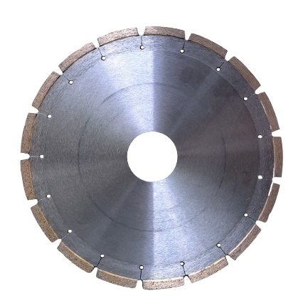 Diamond saw blade for reinforced concrete asphalt and stone