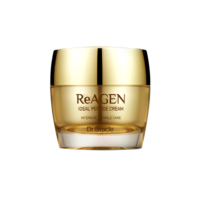 ReAGEN Ideal Peptide Cream 50ml, Premium Anti-Wrinkle Care, Korean Cosmetic, K-Beauty, Dr. Oracle