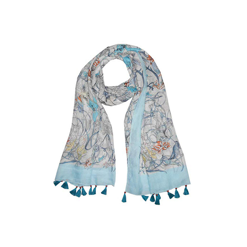 girls head cover up authentic wear long stole neckwarp indian crystals stones printed pashmina scarf women