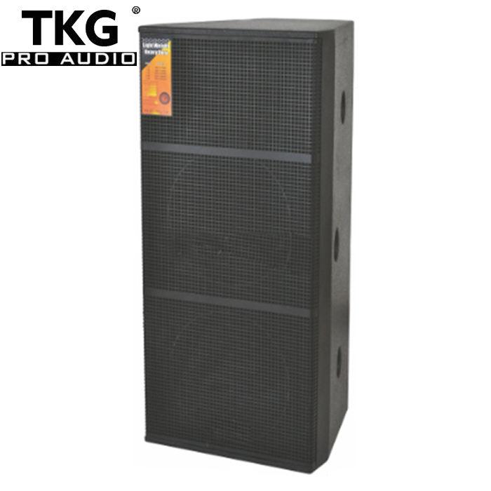 "TKG DS-215 15 inch 1000W performance stage dual 15"" speaker audio professional"
