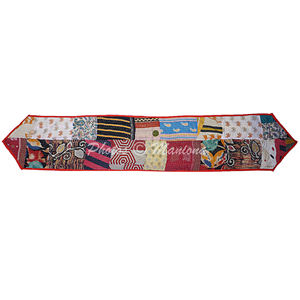 Patchwork Cotton Kantha Table runner