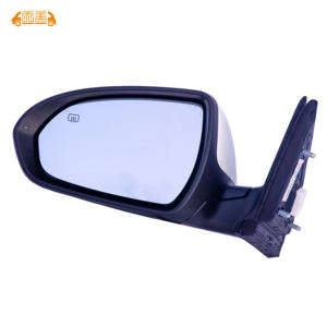 1x Universal Auto Car 360° Wide Angle Convex Rear Side View Blind Spot Mirrorca