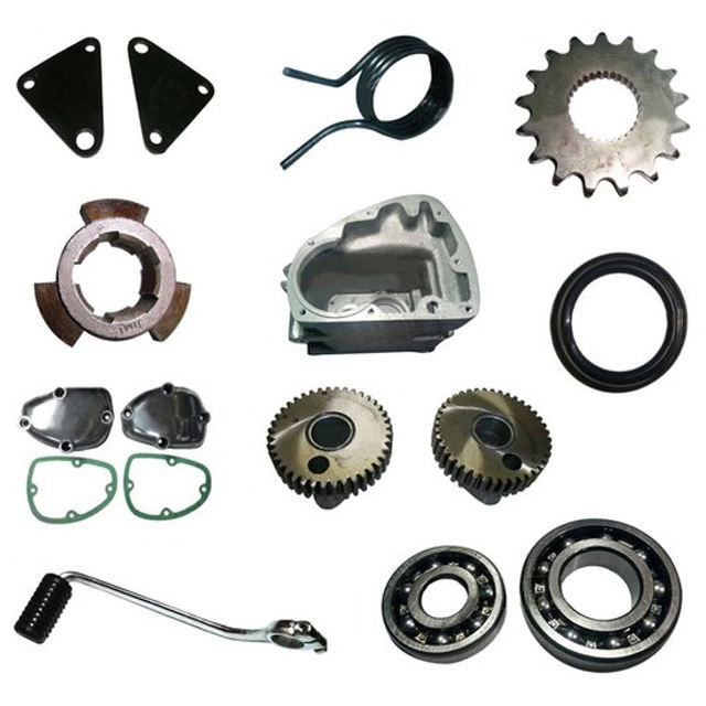 ROYAL ENFIELD GEAR BOX SPARE PARTS - GEAR LEVER, SPEEDO GEAR BOX, ROD KIT, ETC.