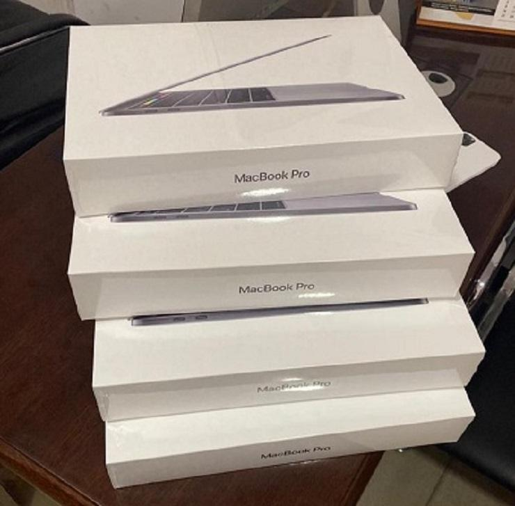 ORIGINAL Laptops MacBooks Pro 16 Polegadas 512GB 1TB 2.6GHz i9 Touch Bar-2020-Modelo Mais Recente