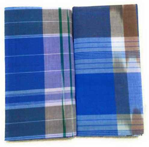 Indian Lungi Men Sarang Export Quality Soft Comfortable Night Wear Pure Cotton