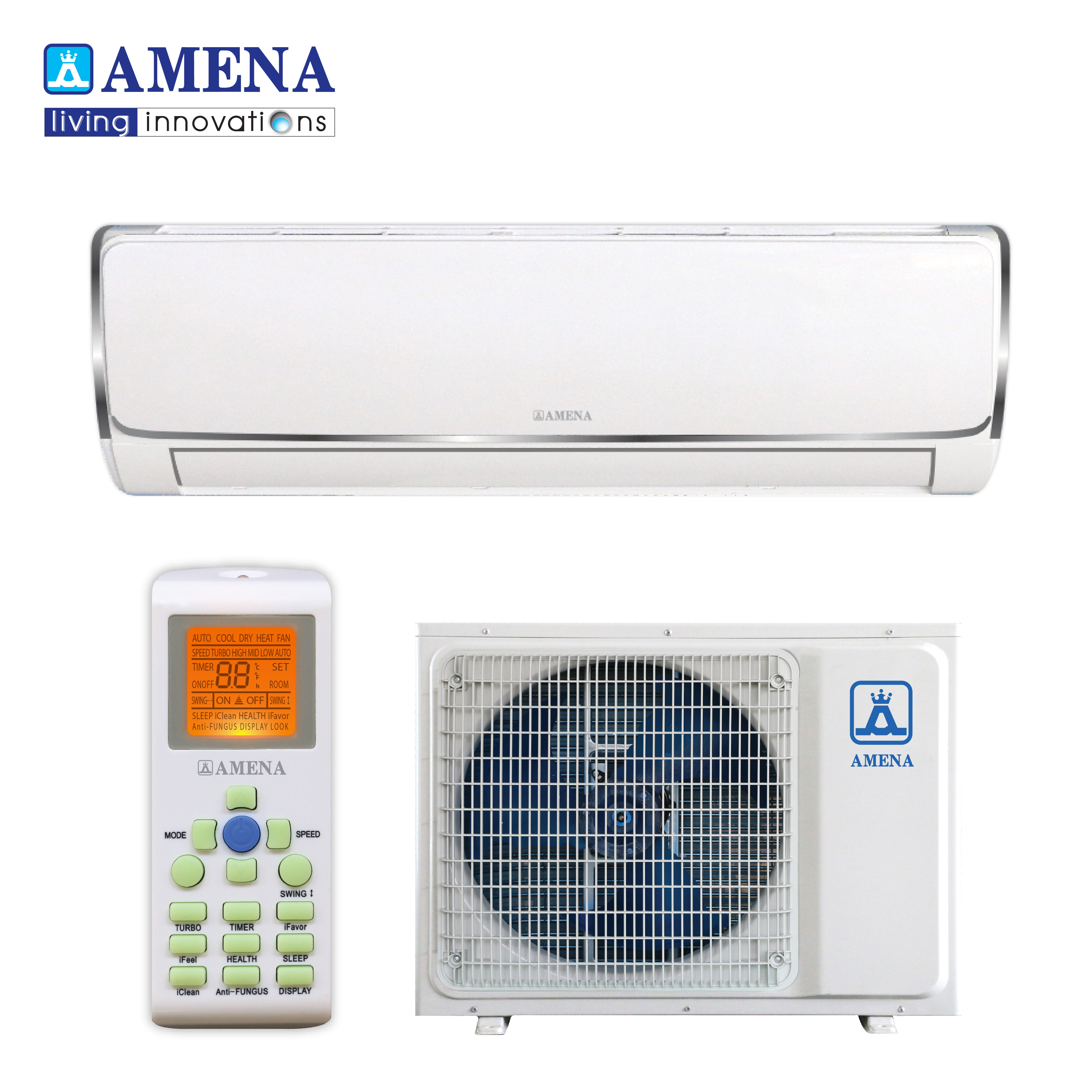 Air Conditioner From Thailand Best Wall type WF Series R32 Fix-Speed Cooling 12000BTU
