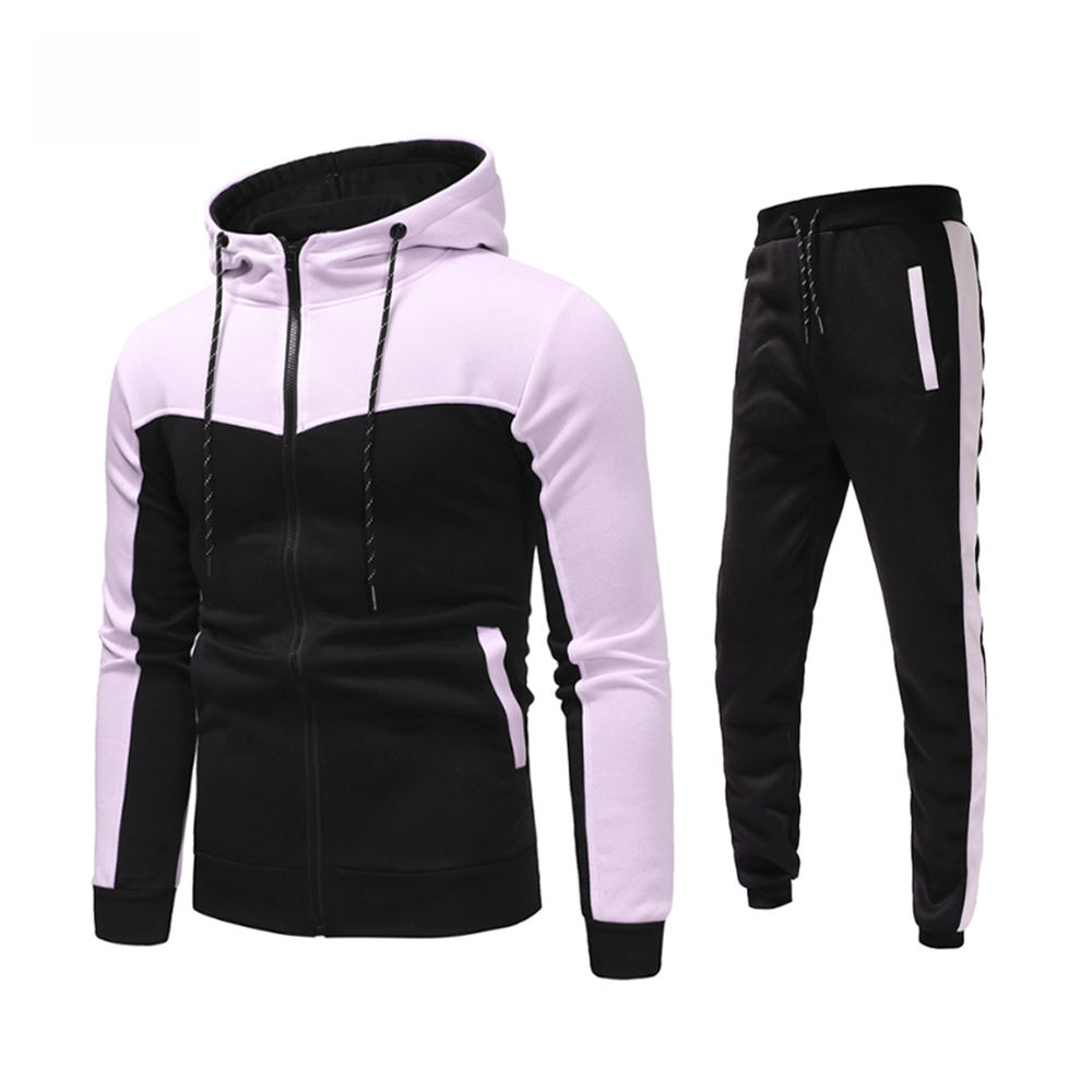 Top Selling Men Running Suits High Quality Custom Fleece Tracksuit for Men