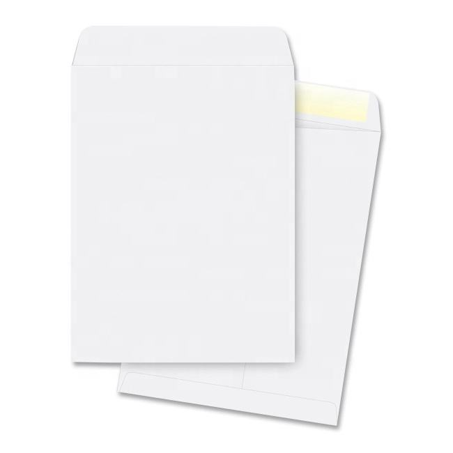 Simple Custom Small Size 120gsm Offset Plain Shatter Envelope White Paper Seed Coin Envelopes Recycled Envelopes