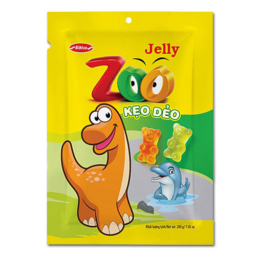 (Bibica Merk) Candy Zoo Jelly 200G (Whatsapp/Viber/Zalo: + 84 989248899)