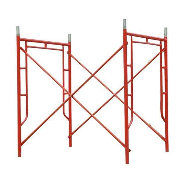 Tianjin SS walk through H frame scaffolding Heavy duty shoring mason frame Marco de andamios Scafold construction for sale