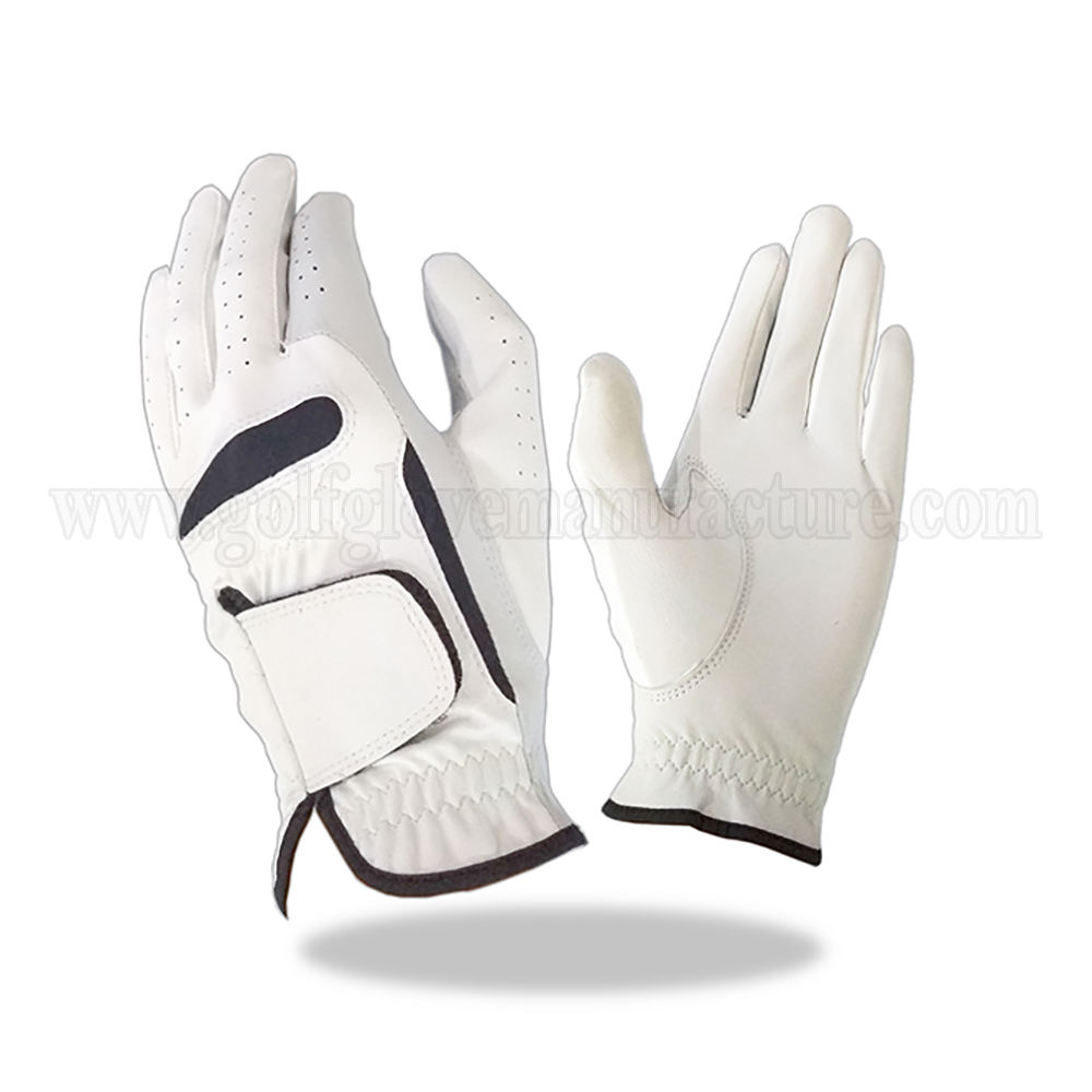Full Leather Golf Glove Soft and Smooth Sheep Cabreatta Skin