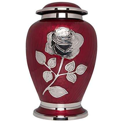 Rose Cremation Urn for adult