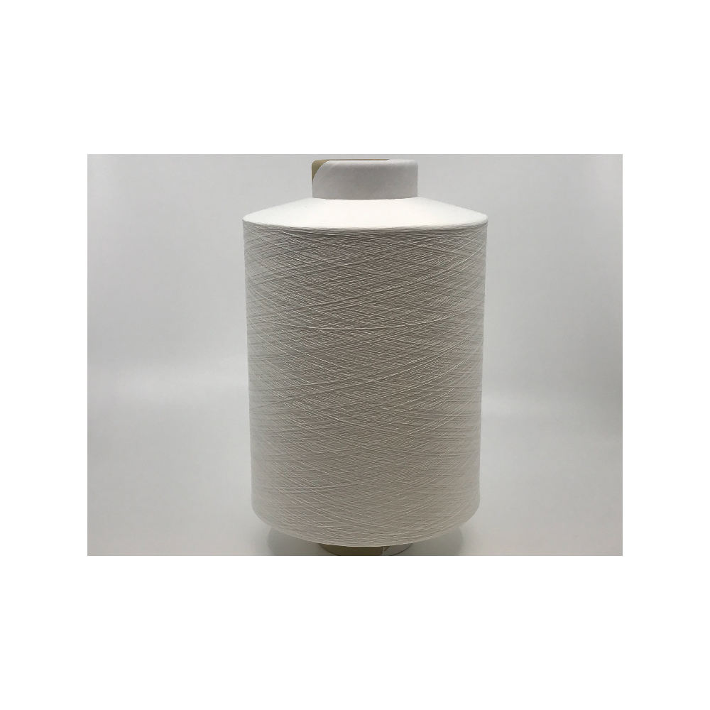 Polyester Dty Yarn for Wearing Textile 100% Pes Polyester High Quality Black Line
