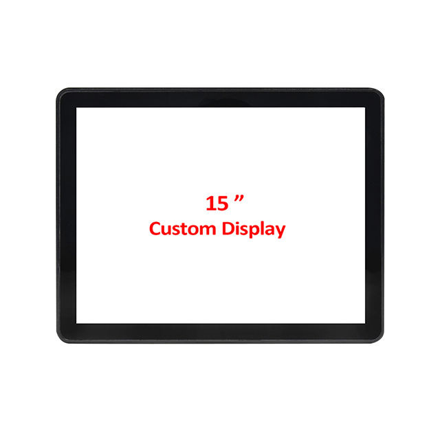 Oem Odm Toponetech 15 Inch Custom Capacitieve Open Frame Touch Screen Monitor Display Pantalla Táctil Moniteur Ecran Tactile