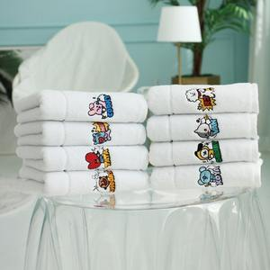 [BT21]Official BT21 100% Cotton Luxury Face Towel Wholesale