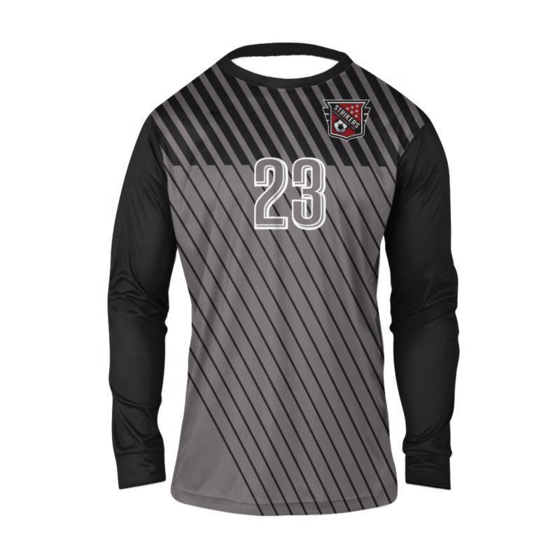 Sublimated Mens Goal Keeper Uniforms With Pad Protections and Goalkeeper Jersey on wholesale Price