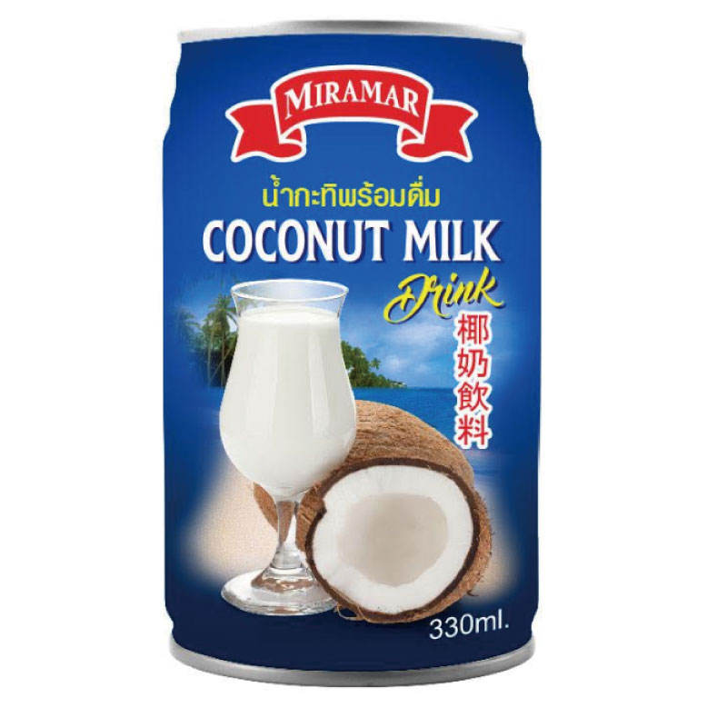 natural Thai CANNED COCONUT MILK FOR COOKING - easy tear open lid tin can OEM Private Label available 400ML