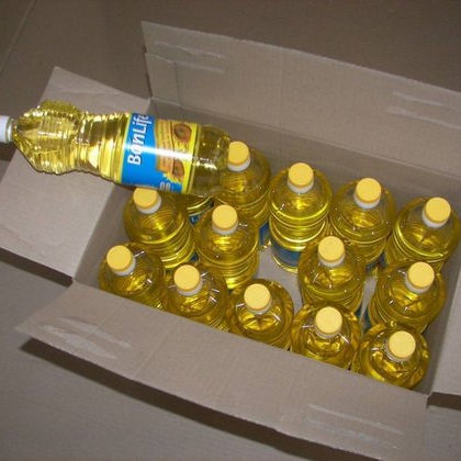 100% Doubled Refined sunflower Oil