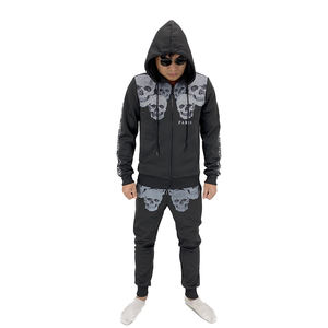 New arrival latest casual clothing sets sweatshirt mens hoodie and pants set