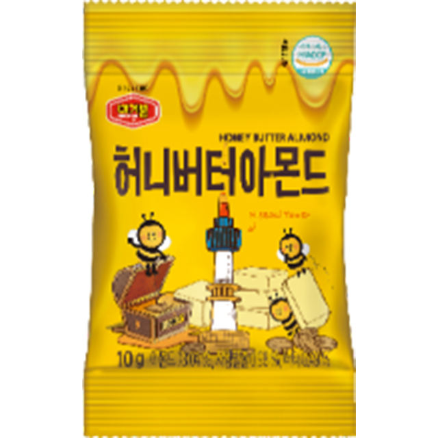 asian popular korean healthy nuts snacks food honey butter almond/ mixed organic nuts snacks/snacks /k-food made in Korea