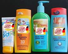 Sun Milk, Sunscreen, After Sun, Apres Gel, 200ml, 300ml