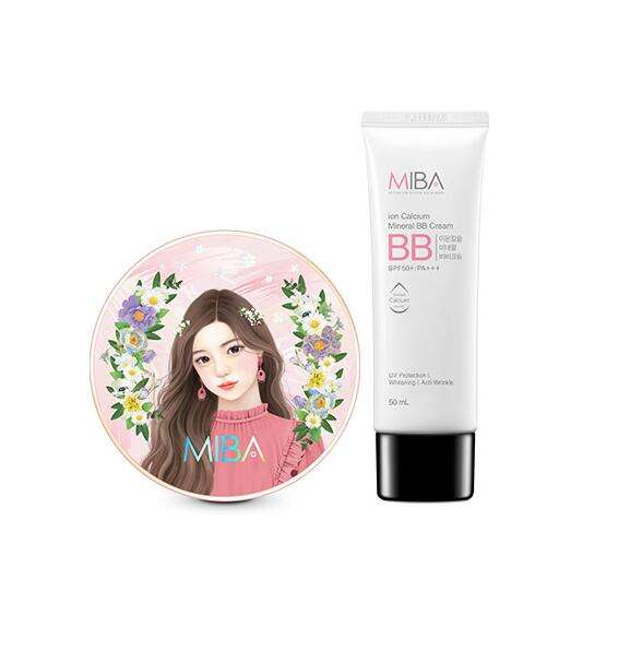 KOREA [MIBA] HONG JIN YOUNG ION CALCIUM MINERAL BB CREAM FOUNDATION SPF50+ PA+++ 50ML