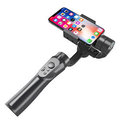 New arrival Selfie Stick Upgrade Ordinary Smartphone Gimbal 3 Axis Handheld Stabilizer DSLR Auto Tracking Camera 3 Axis Gimbal