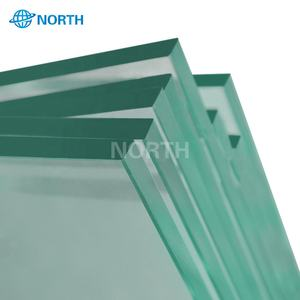 Standard size clear reinforced tempered glass pool fence panels for sale