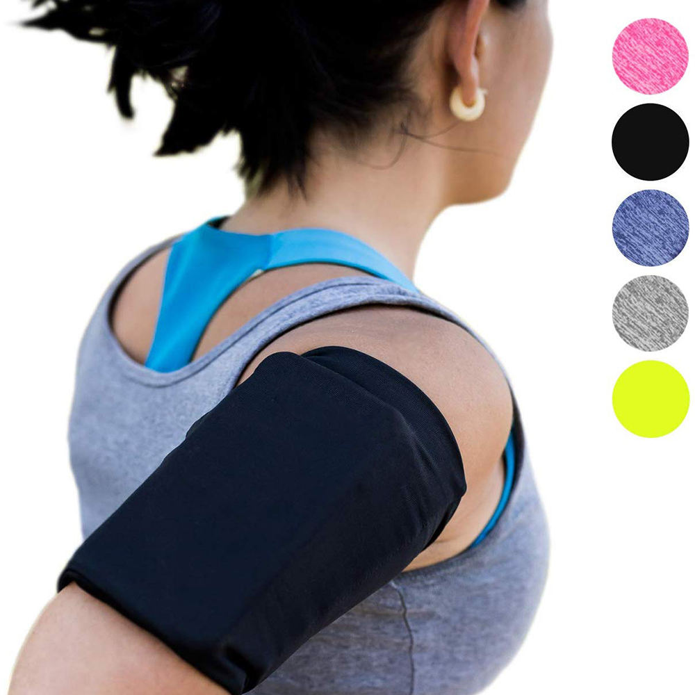 Yofeel Universel téléphone Portable tissu <span class=keywords><strong>sport</strong></span> marche imperméable armbag sac pochette