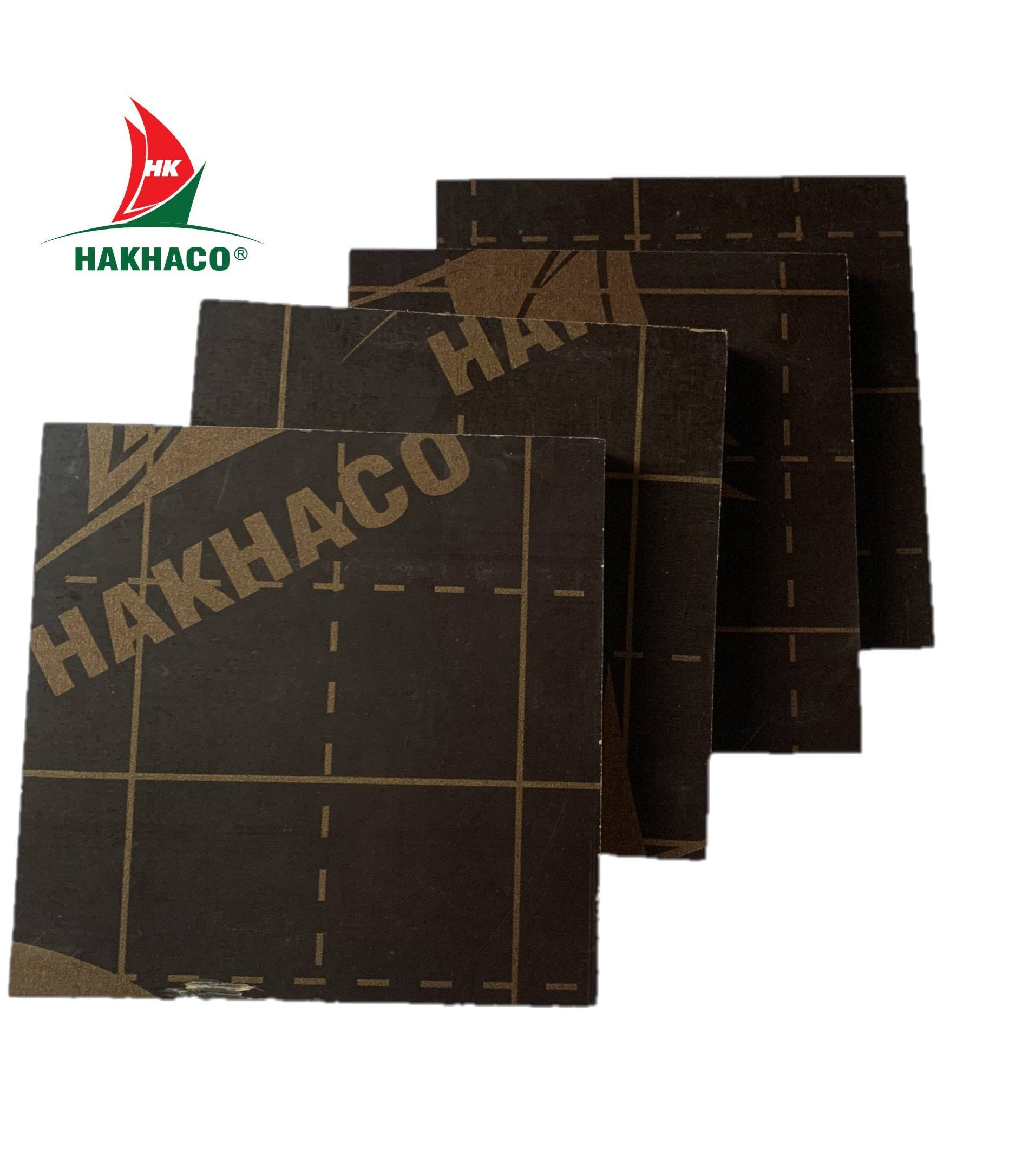 High Quality Customized Thickness 9mm - 18mm Film Faced Plywood for Construction Manufactured in Vietnam