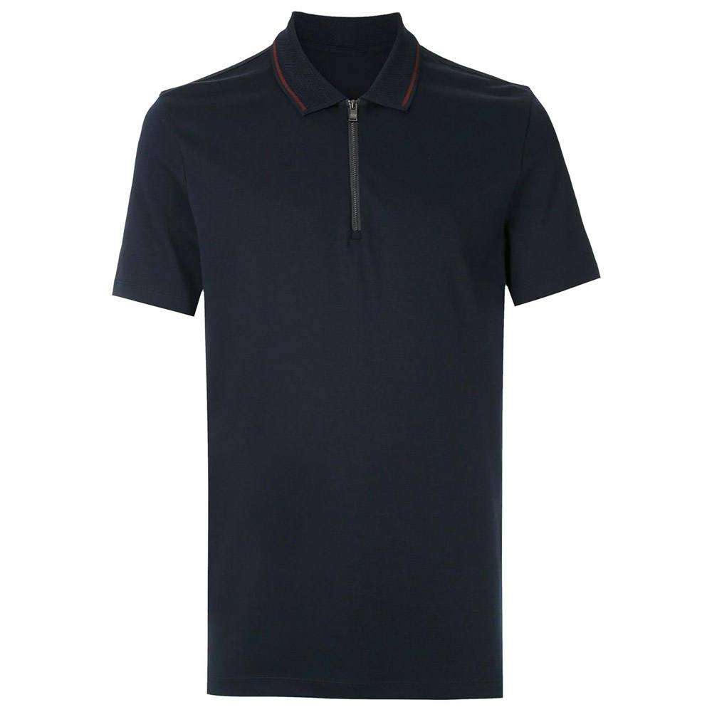 Solid Color Polo Shirt Custom Printing Men Shirt