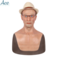 [Free Shipping] 2019 Best Realistic medical grade silicone Man mask for cross dresser Cosplay