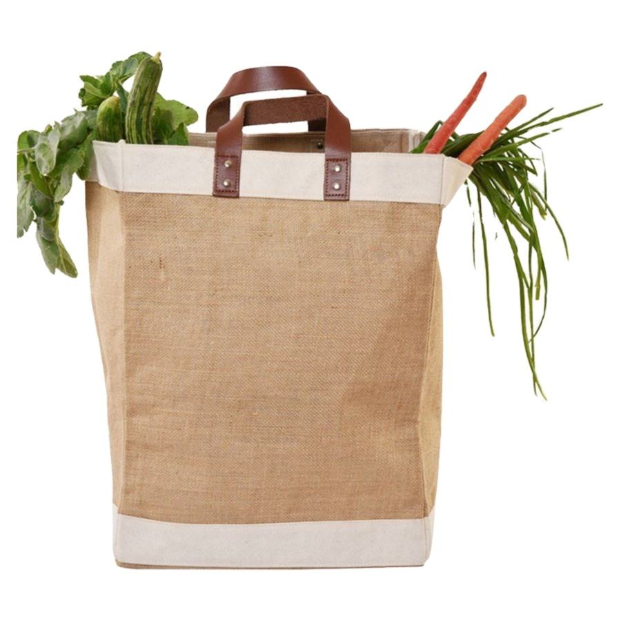 Wholesale Promotional Reusable Shoe Jute Grocery Shopping Tote Bag/ jute tote bag