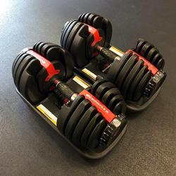 Authentic gENIUINE THE BOWFLEXS SELECTTECH 552 - TWO ADJUSTABLE DUMBBELLS